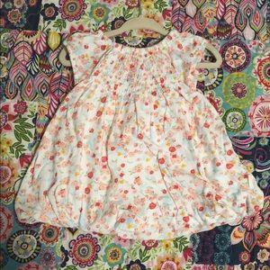 Burt's Bee Baby Bubble Dress Size 12 Months GUC